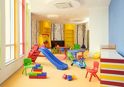 Kids' play room