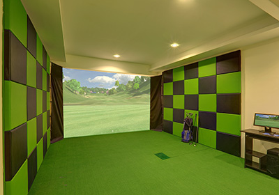 Golf course Simulator