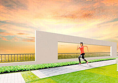 15th Floor Jogging Track