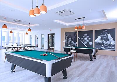 Pool Table Deck