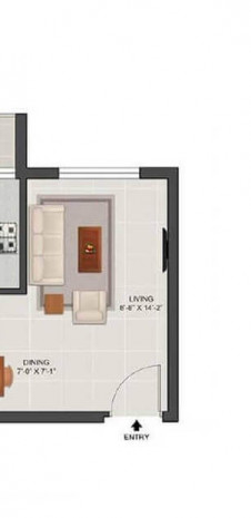Tata Value Homes New Haven Compact - Unit Plan