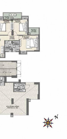 Floor Plan - Tower B 9 for Tata Eureka Park