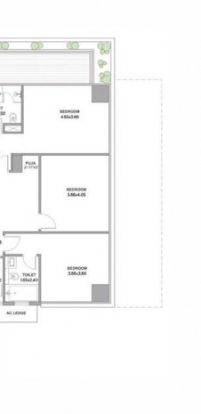 Tata Promont Floor Plan for 4 BHK Supreme - Type A1