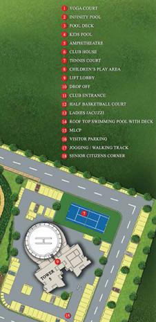 Master Plan of Tata Realty Tritvam Kochi