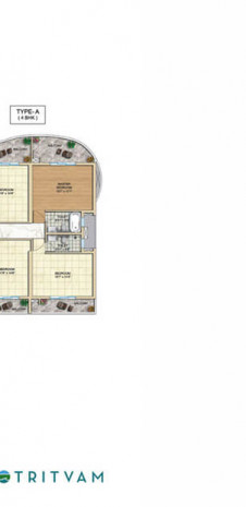 Tata Realty Tritvam Floor Plan - 12th Floor