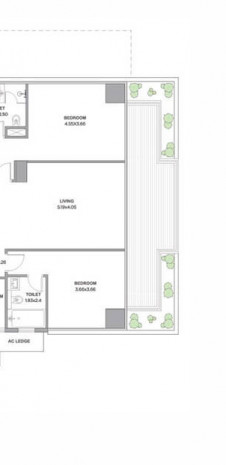Tata Promont Floor Plan for 4 BHK Supreme - Type A2