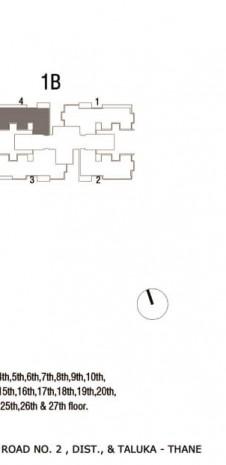 Tata Serein Floor Plan   Tower 1B Plan - Tata Serein 2 BHK
