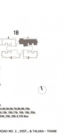 Tata Serein Floor Plan   Tower 1B Plan - Tata Serein 3 BHK