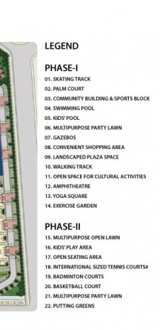 Tata Eureka Park Floor Plan - Master Plan for Tata Eureka Park