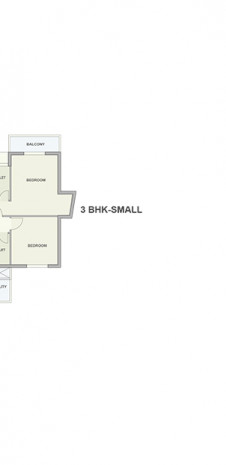Typical Floor Plan of Tata Ariana Tower 3
