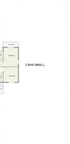 Floor Plan of Tata Ariana - Tower 4 First Floor and Ground Floor