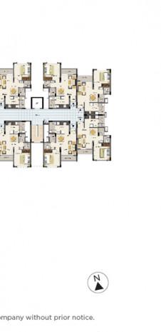 Tata Value Homes Santorini Floor Plan - 1 BHK KEA