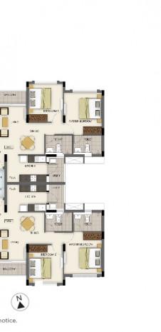 Tata Value Homes Santorini Floor Plan -2 BHK FIRA