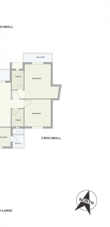 Typical Floor Plan of Tata Ariana Tower 10 and 11