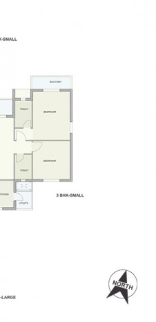 Floor Plan of Tata Ariana Tower 10 and 11