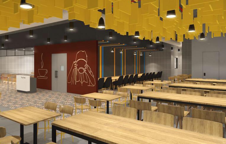Trendy Cafeteria