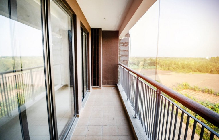 Tower F- Living Balcony