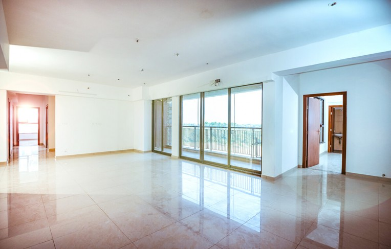 Tower F - Living & Dining (4 BHK)